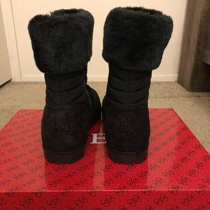 Guess Faux Fur Boots
